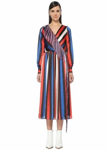 MSGM Elbise Lacivert
